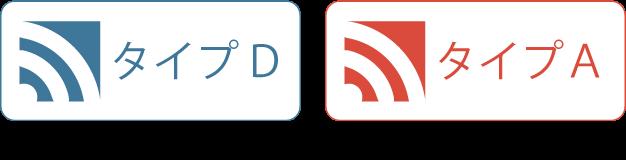 プランは、タイプDタイプAの2種類